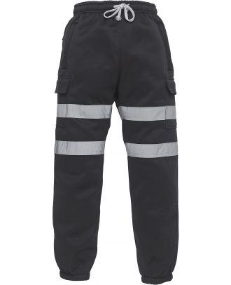 Pantalon de jogging haute visibilité YHV016T - Black