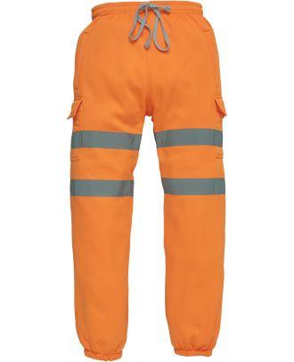 Pantalon de jogging haute visibilité YHV016T - Hi Vis Orange