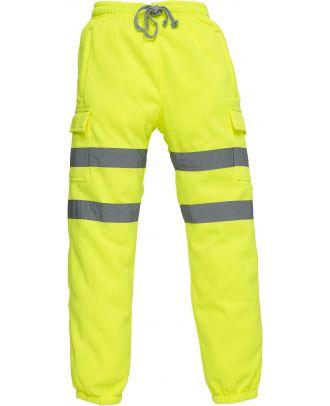 Pantalon de jogging haute visibilité YHV016T - Hi Vis Yellow