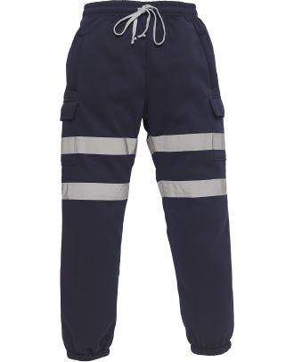 Pantalon de jogging haute visibilité YHV016T - Navy