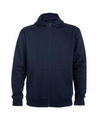 Sweat-shirt capuche avec fermeture éclair MONTBLANC marine