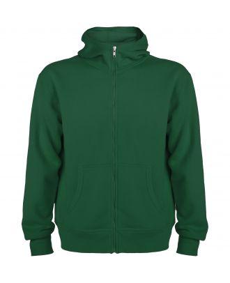 Sweat-shirt capuche avec fermeture éclair MONTBLANC vert bouteille