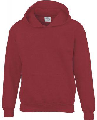 Sweat-shirt enfant à capuche Heavy Blend™ 18500B - Garnet