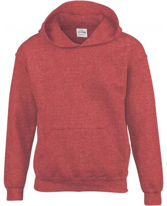 Sweat-shirt enfant à capuche Heavy Blend™ 18500B - Heather Sport Scarlet Red