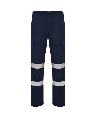 Pantalon haute visibilité en tissu résistant DAILY HV marine