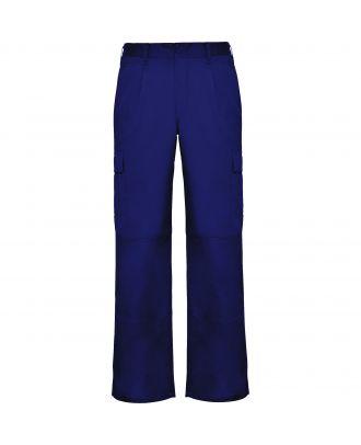 Pantalon de travail tissu résistant DAILY bleuté