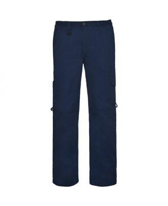 Pantalon de travail unisexe PROTECT marine