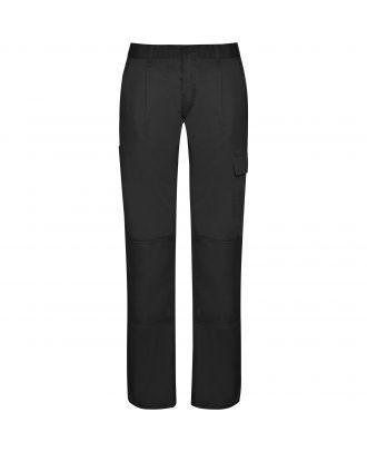 Pantalon de travail femme tissu résistant DAILY WOMAN noir
