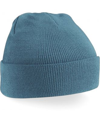 Bonnet original à revers B45 - Airforce Blue-One Size