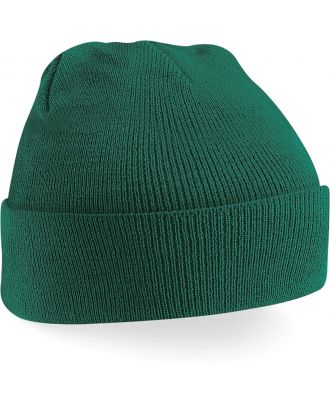 Bonnet original à revers B45 - Bottle Green-One Size