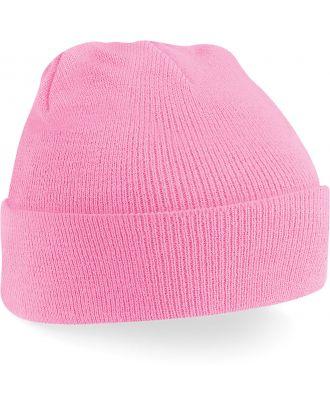 Bonnet original à revers B45 - Classic Pink-One Size