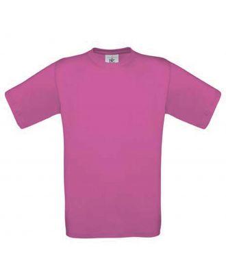 T-shirt enfant manches courtes exact 150 CG149 - Fuchsia