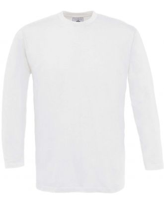 T-shirt homme manches longues exact 150 LSL CG151 - White