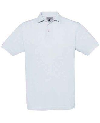 Polo enfant manches courtes Safran SAFE - White