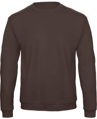 Sweatshirt col rond ID.202 WUI23 - Brown recto