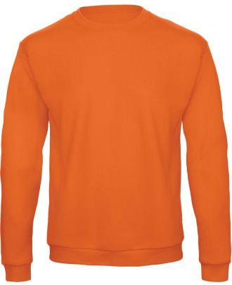 Sweatshirt col rond ID.202 WUI23 - Pumpkin Orange de face
