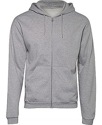 Sweatshirt capuche zippé ID.205 - Heather Grey