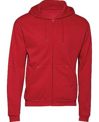 Sweatshirt capuche zippé ID.205 - Red