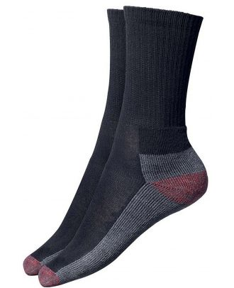 Chaussettes Cushion Crew DCK0008 - Black / Grey / Red