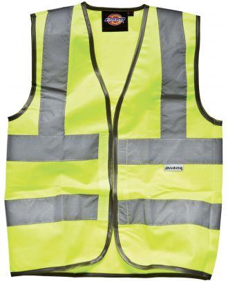 Gilet enfant Haute Visibilité DSA22007 - Yellow