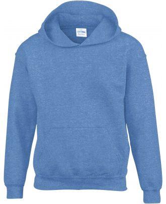 Sweat-shirt enfant à capuche Heavy Blend™ 18500B - Heather Sport Royal
