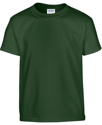 T-shirt enfant manches courtes heavy 5000B - Forest Green