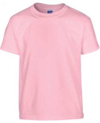 T-shirt enfant manches courtes heavy 5000B - Light Pink