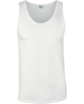 Débardeur homme softstyle GI64200 - White