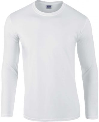 T-shirt homme manches longues Softstyle GI64400 - White
