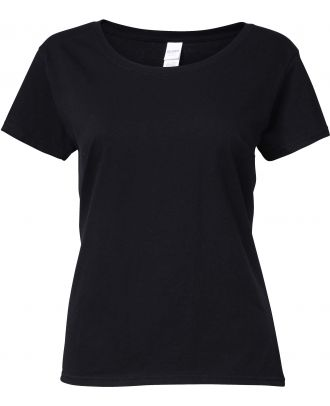 T-shirt femme Softstyle® Deep Scoop 64550L - Black