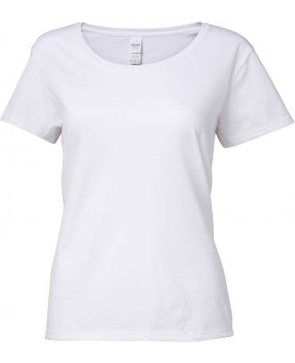 T-shirt femme Softstyle® Deep Scoop 64550L - White