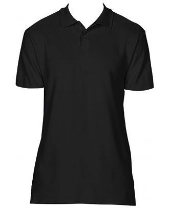 Polo homme Softstyle double piqué GI64800 - Black