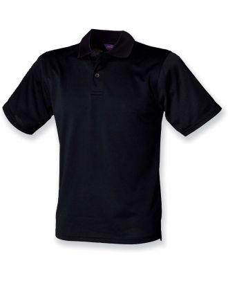 Polo homme Coolplus H475 - Black