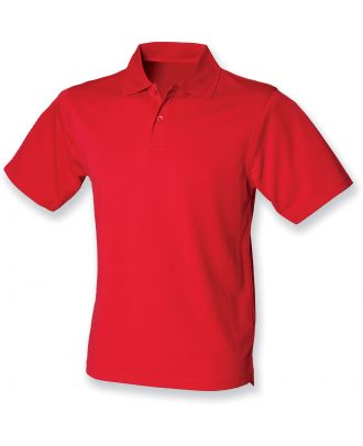 Polo homme Coolplus H475 - Classic Red