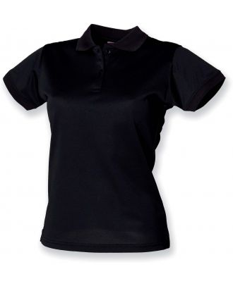 Polo femme Coolplus H476 - Black