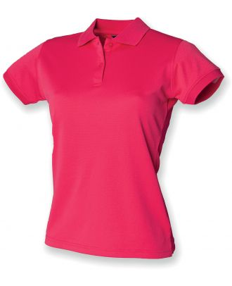 Polo femme Coolplus H476 - Bright Pink