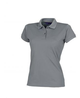 Polo femme Coolplus H476 - Charcoal