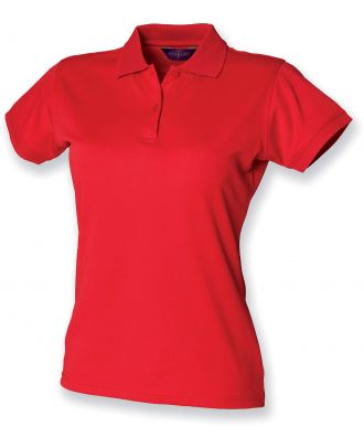 Polo femme Coolplus H476 - Classic Red