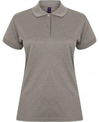 Polo femme Coolplus H476 - Heather Grey
