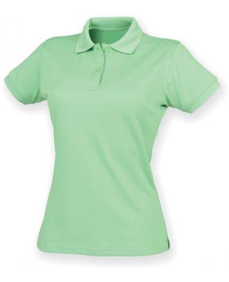 Polo femme Coolplus H476 - Lime