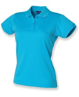 Polo femme Coolplus H476 - Turquoise