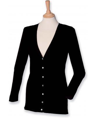 Cardigan femme H723 - Black
