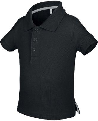 Polo bébé manches courtes K248 - Black