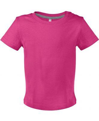 T-shirt bébé manches courtes K363 - Fuchsia