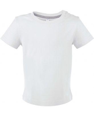 T-shirt bébé manches courtes K363 - White
