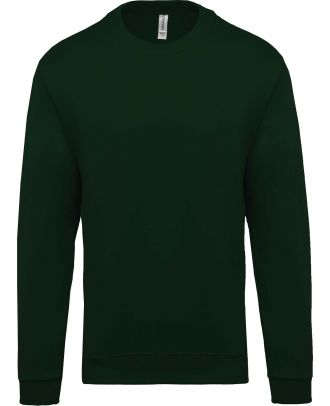Sweat-shirt unisexe col rond K474 - Forest Green