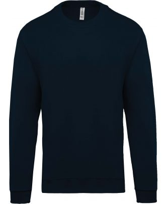 Sweat-shirt unisexe col rond K474 - Navy