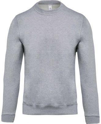 Sweat-shirt unisexe col rond K474 - Oxford Grey