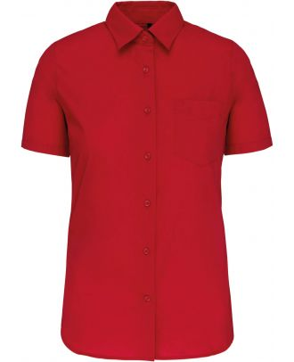 Chemise manches courtes femme Judith K548 - Classic Red