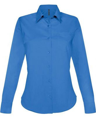 Chemise manches longues femme Jessica K549 - Light Royal Blue